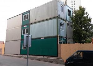 stavební buňky 3 patra